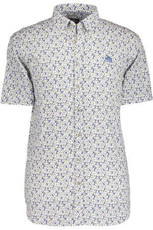 State of art Overhemd vogeldessin met korte mouwen