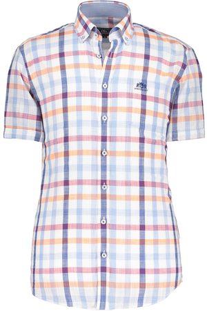 State of Art Overhemd ruitpatroon met korte mouwen