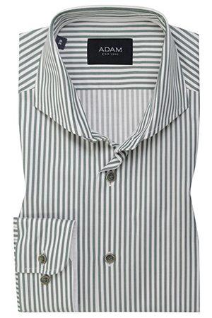Adam est 1916 Heren Overhemden - Adam est. 1916 dress overhemd /wit gestreept