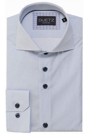 Duetz1857 Heren Overhemden - Duetz 1857 dress overhemd stipprint