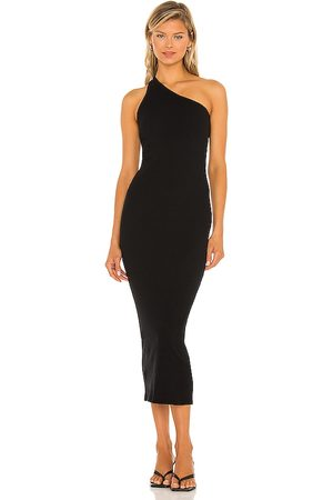 ENZA COSTA Recycled One Shoulder Maxi Dress in