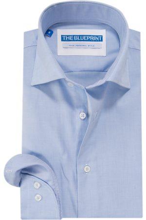 The BLUEPRINT Heren Trendy Heren Overhemd