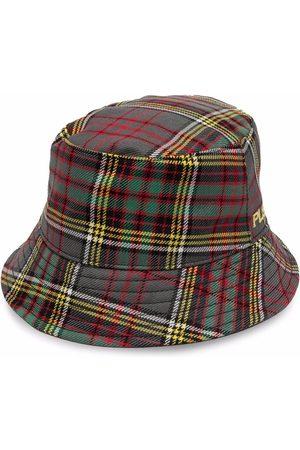 Philosophy Di Lorenzo Serafini Tartan-check wool bucket hat