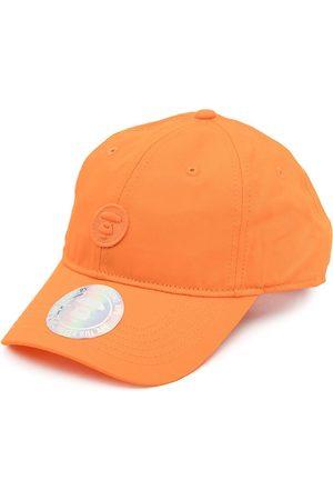 AAPE BY *A BATHING APE® Logo-patch cotton cap