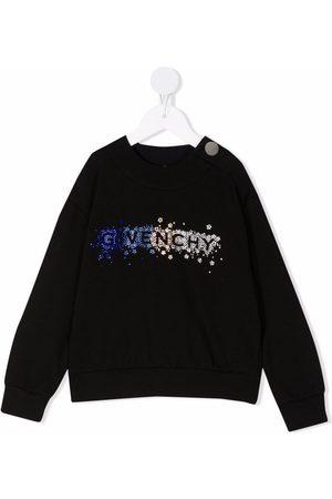 Givenchy Kids Stud-embellishment long-sleeve sweatshirt
