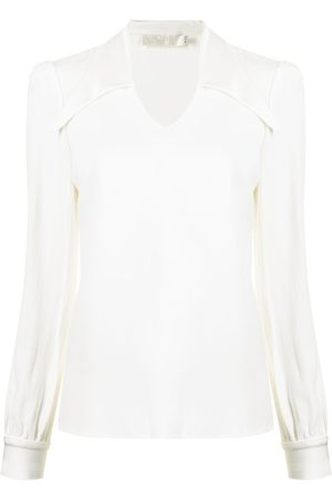 JANE Dames Blouses - Marlow spread-collar blouse