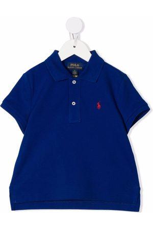 Ralph Lauren Kids Embroidered logo polo shirt