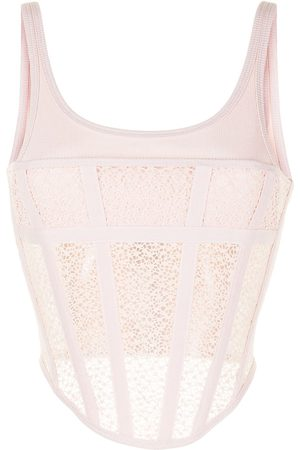Dion Lee Suspended utility corset top