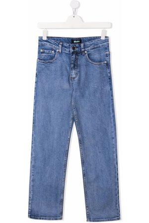Molo TEEN organic cotton-blend slim-fit jeans