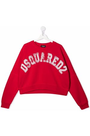 Dsquared2 Sweaters - TEEN distressed logo sweater