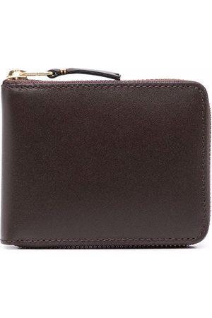 Comme des Garçons Heren Portefeuilles - Grained leather wallet