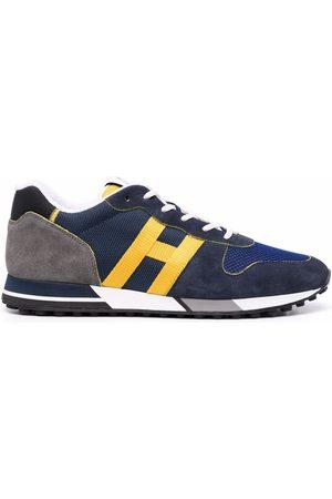 Hogan Side logo-patch sneakers