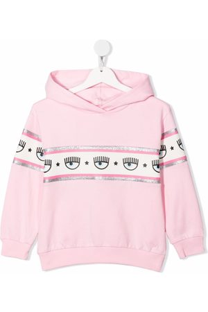 MONNALISA Logomania pullover hoodie