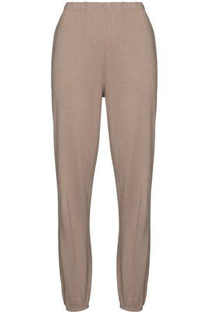 Ninety Percent Dames Joggingbroeken - Tapered high-waisted track pants