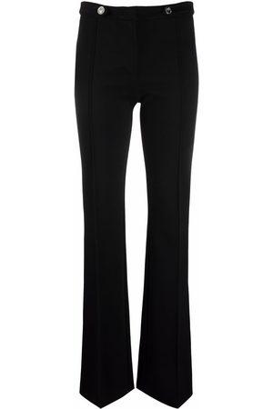 Pinko High-waisted flared leg trousers