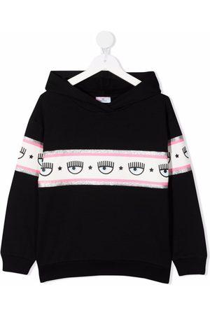 Chiara Ferragni Meisjes Hoodies - Blinking Eye print hoodie
