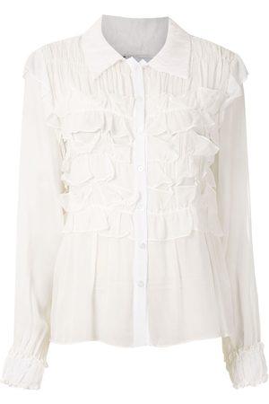 Olympiah Catharine sheer blouse