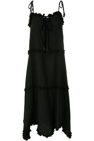 Olympiah Laço Cape dress