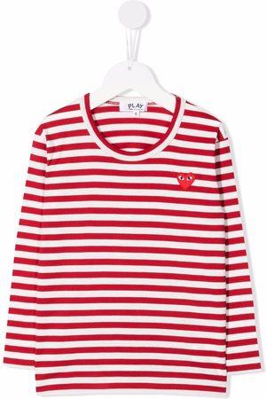 Comme des Garçons Striped long-sleeved T-shirt