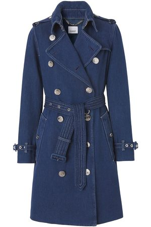 Burberry Double-breasted denim coat