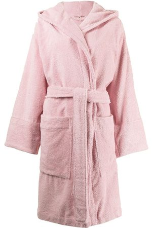 Tekla Organic cotton hooded bathrobe