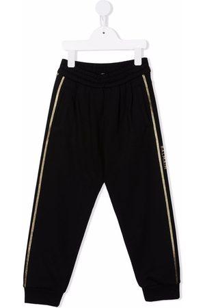Balmain Meisjes Joggingbroeken - Side stripe-detail track pants