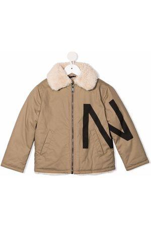 Nº21 Logo-print jacket