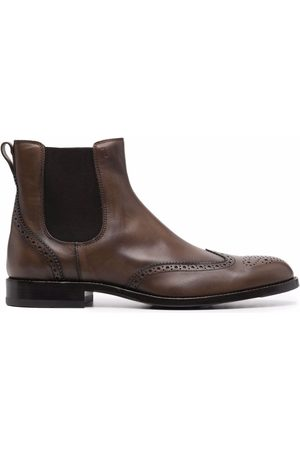 Tod's Brogue-detail Chelsea boots