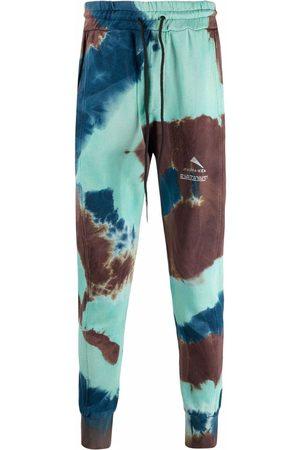 MAUNA KEA Heren Joggingbroeken - Tie-dye logo-print trackpants