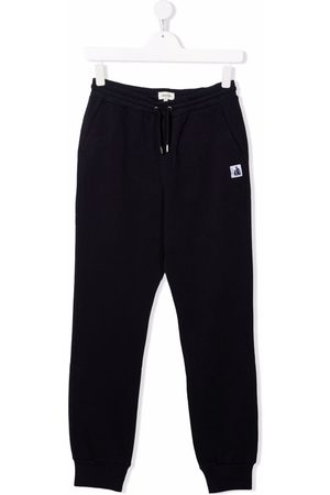Lanvin TEEN logo-patch track pants