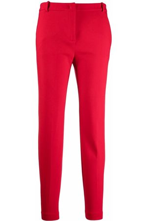 Pinko Cropped slim-fit trousers