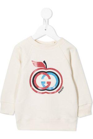 Gucci Interlocking G apple sweatshirt