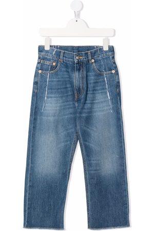 MM6 KIDS Meisjes Straight - Mid-rise straight jeans
