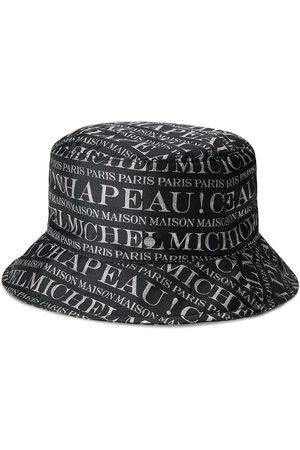 Le Mont St Michel Logo print bucket hat