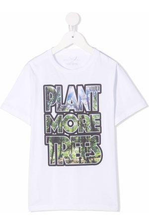 Stella McCartney Slogan-print short-sleeve T-shirt