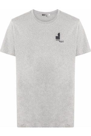 Isabel Marant Heren T-shirts - Zafferh logo print T-shirt