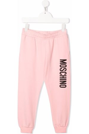 Moschino Joggingbroeken - Logo-print track pants