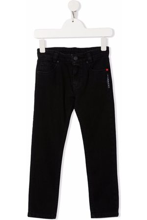Givenchy Jongens Jeans - Embroidered logo jeans