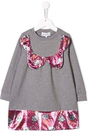 Simonetta Cloud panelled jumper dress