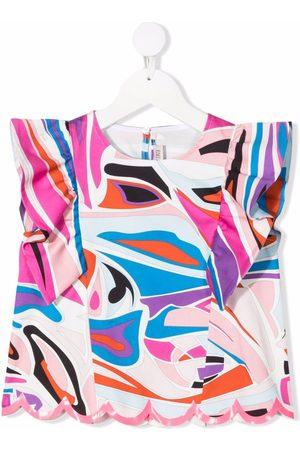 Emilio Pucci Meisjes Blouses - Graphic-print blouse
