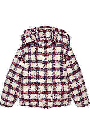 Gucci Tweed check-print jacket