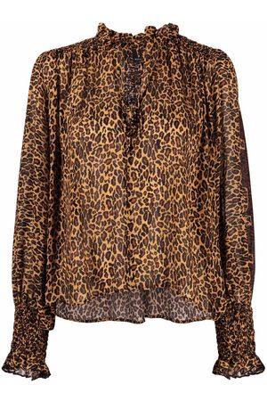 Pinko Leopard-print blouse