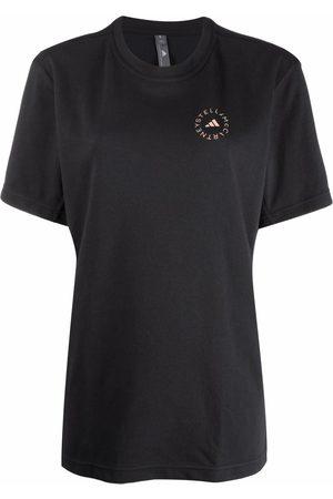 adidas Dames Korte mouw - Short-sleeved logo-print T-shirt