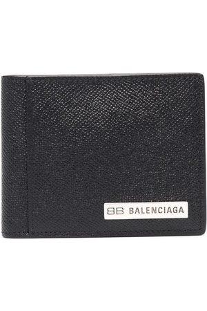 Balenciaga PLATE SQUARED FOLDED WALLET