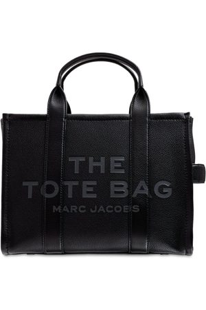 Marc Jacobs Small Traveler Logo Leather Tote Bag
