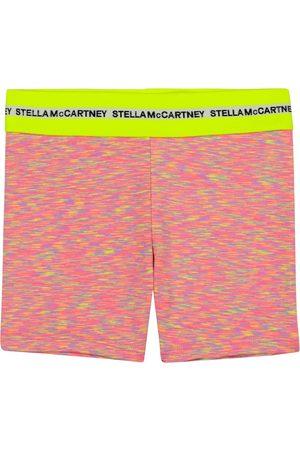Stella McCartney Space-dye stretch-jersey biker shorts