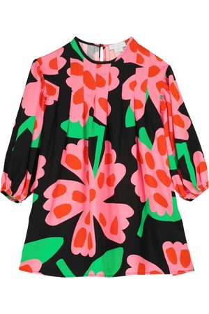 Stella McCartney Floral-printed twill dress