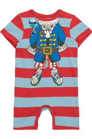 Stella McCartney Baby striped cotton jersey bodysuit