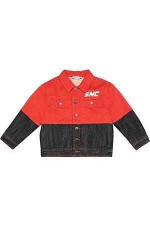 Stella McCartney Color-blocked denim jacket