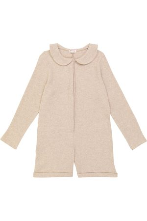 MORLEY Oisin ribbed-knit playsuit